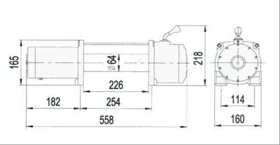 Troliu PowerWinch 12000 lb-5443 kg.NOU Giurgiu - imagine 7