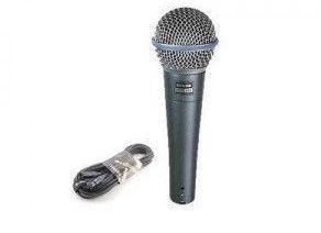 Microfon Shure Beta 58A vocal profesional cu fir Microfon Shure Beta