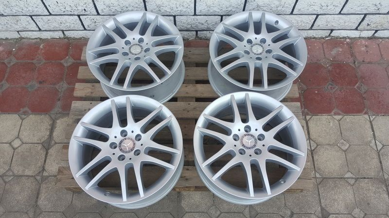 Jante Mercedes SLK 7.5x17 et 36 5x112 OEM Oradea - imagine 1