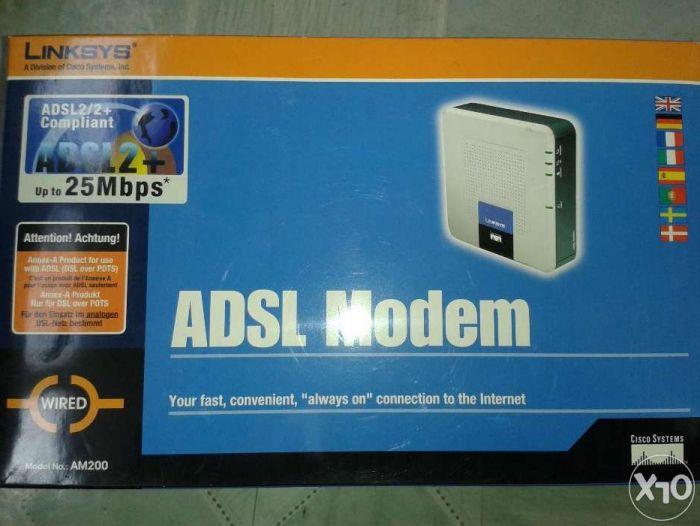 модем ADSL Linksys продам