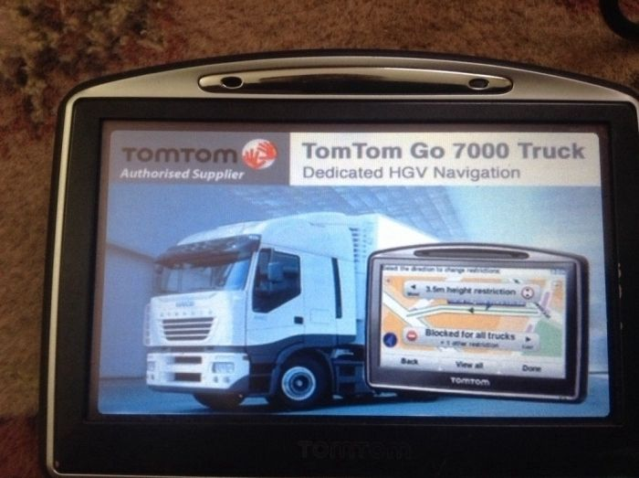 GPS go 730 camion si turism full-Europa