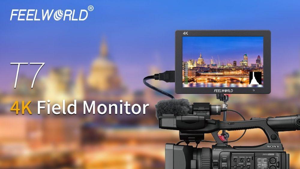 Monitor Feelworld T7 7″ IPS HDMI 4K functiile de focalizare / expunere