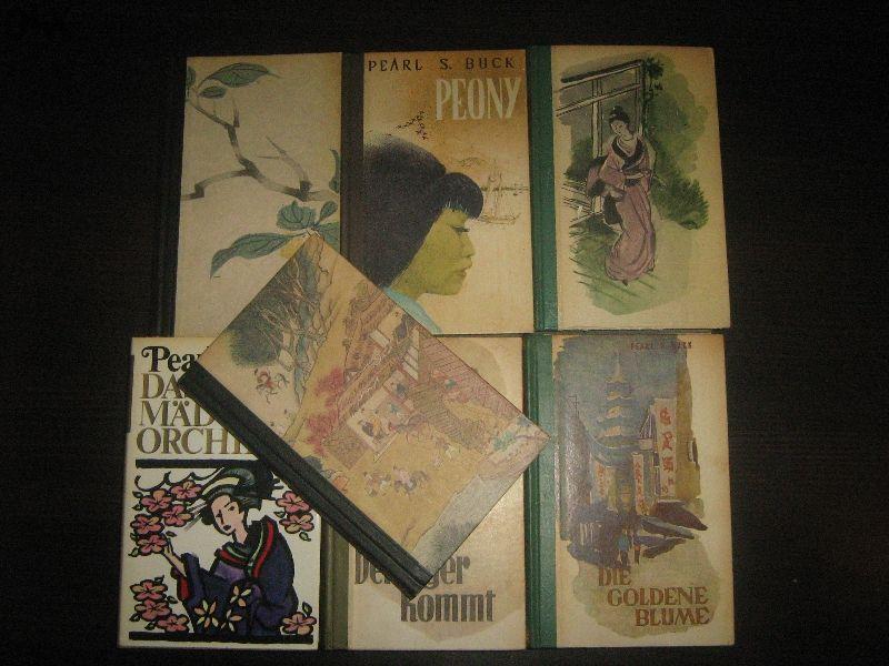 голям лот немски книги на Pearl S. Buck - НОВИ !