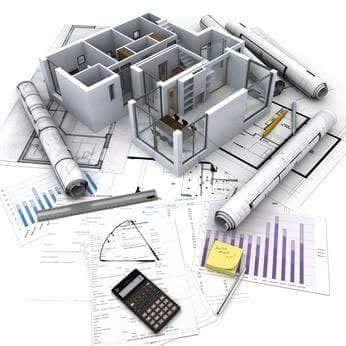 execução de obra e fiscalização de obra, 2D e 3D