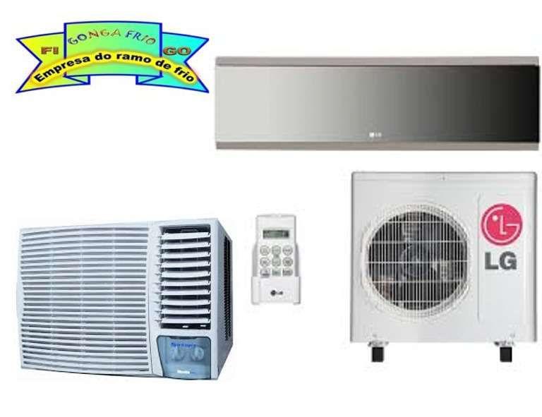 Técnico de Ar condicionado, Reparação e Manutenção e montagem