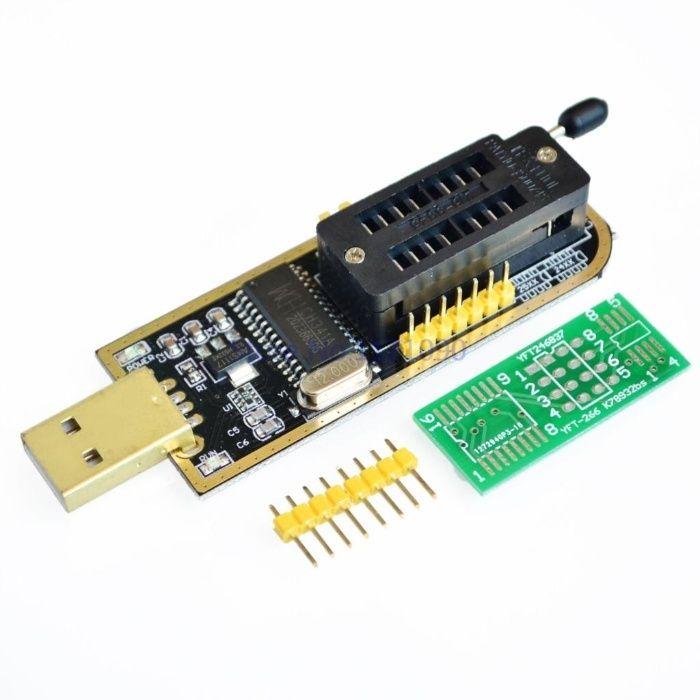 Programator eeprom , flash 24c serie 25c serie