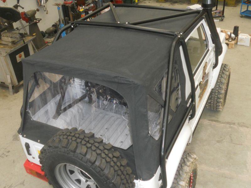Soft Top Suzuki Samurai culoare negru sau alb