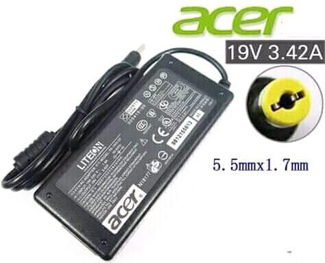 Carregador Acer novo na caixa 19v e 3.4a
