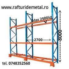 rafturi metalice industriale Bucuresti - imagine 3