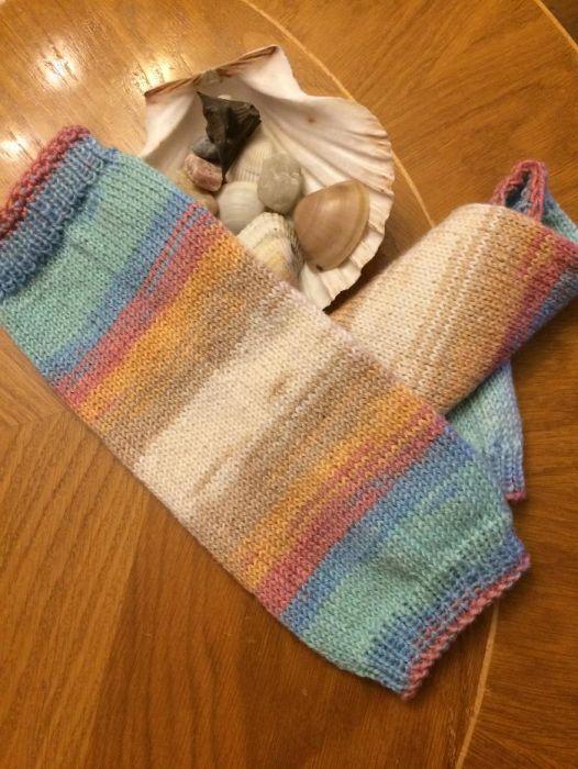 Плетени бебешки гети подходящи за бебеносене