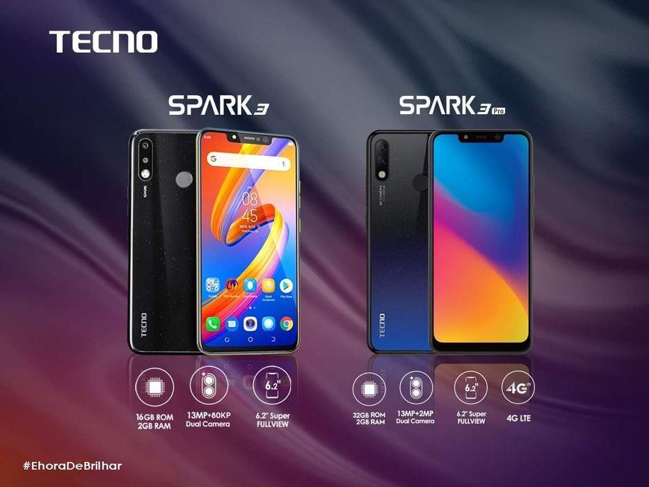 Tecno Spark 3pro selados