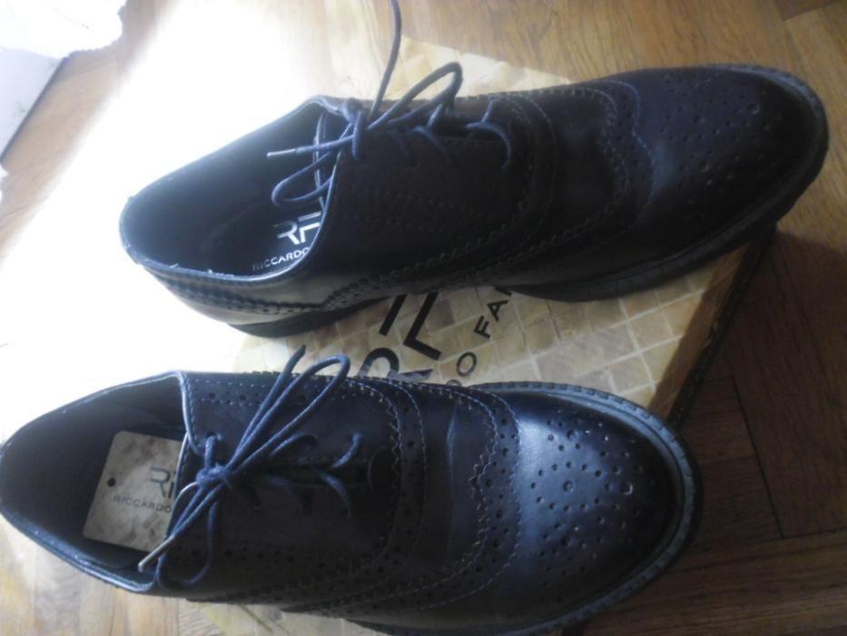 НОВИ! Пролетно/есенни тъмносини обувки