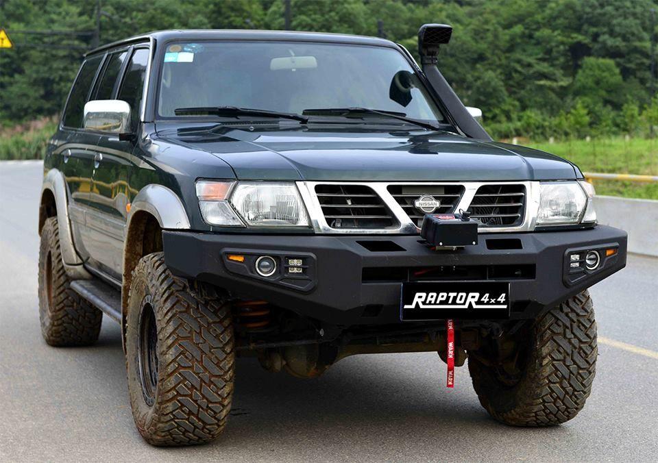 Bara fata Raptor 4x4 pentru Nissan Patrol Y61