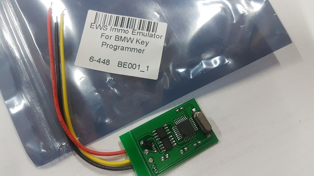 Auto EWS Immo Emulator , programator Chei / key BMW EWS Immobilized
