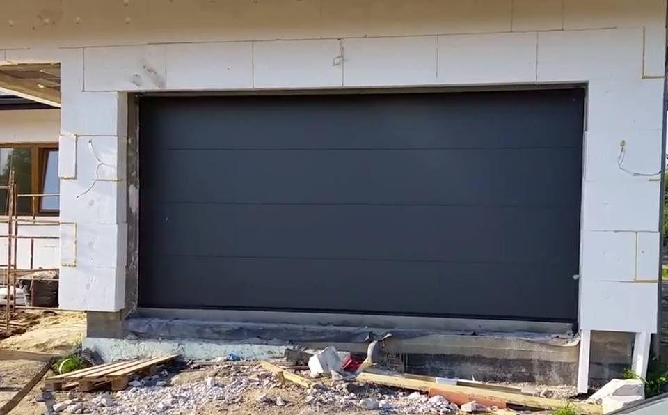 Uși de garaj 2500L/2000H, sectionale, izolate cu automatizare Nice
