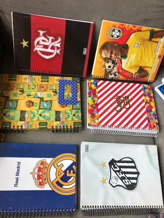 Cadernos variados