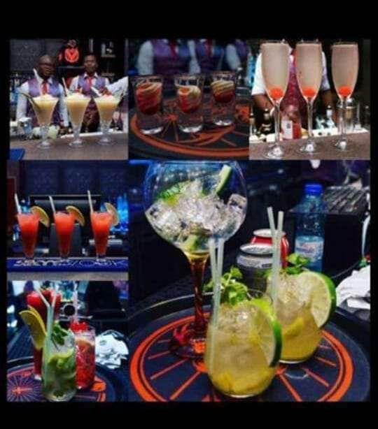 Serviso de cocktails