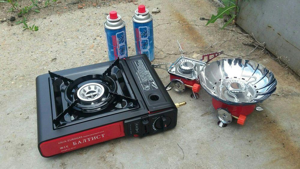 Газовые плиты и горелки