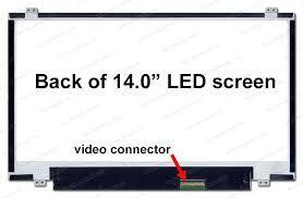 "Lcd para laptop 14"" led"