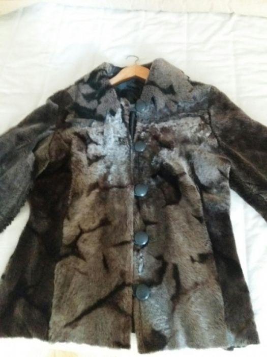 Палто от ярешка кожа р-р L-XL