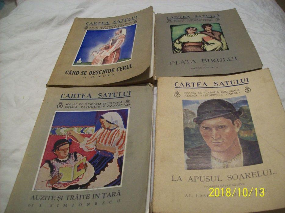 cartea satului-4 carti