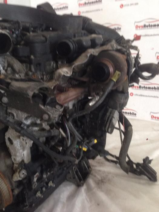 Motor 1.6 HDI 9HZ 9HY 9HO 9HN Peugeot 307 407 207, Citroen, Ford Ploiesti - imagine 3