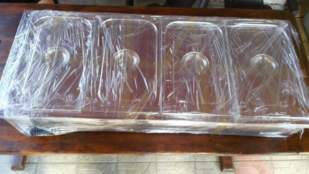 Професионална Топла витрина / водна / електрическа, Бен-мари