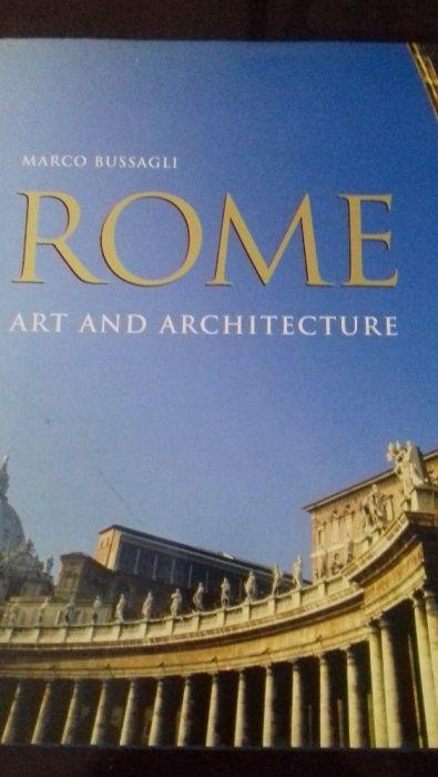 Carte extraordinara Roma Arta si Arhitectura Rome Art and Architecture