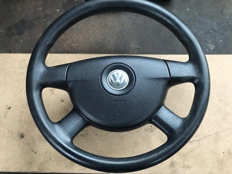 Volan si airbag in 4 spite compatibil cu Vw Passat B6, Golf 5