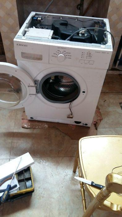 Programação, reparação, manutenção e montagem d máquinas d lavar roupa
