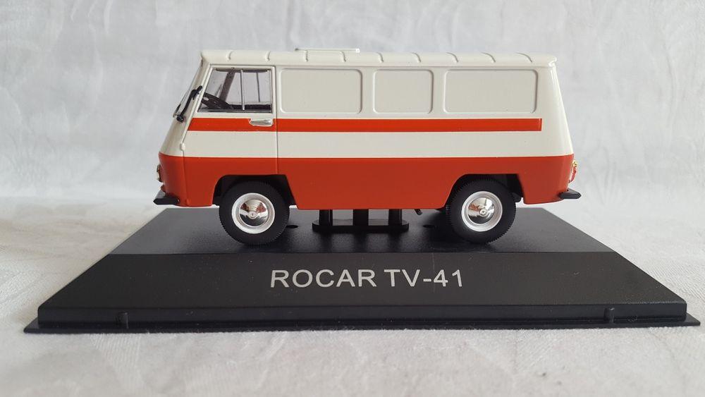 Macheta DeAgostini Rocar TV - 41 Scara 1:43