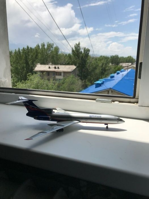 модель самолета ту 154м аэрофлот