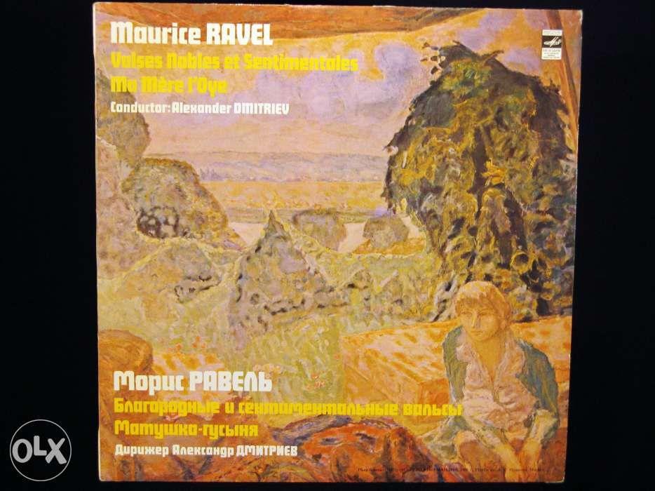 Disc Vinil pik-up MAURICE RAVEL Valsuri Nobile Sentimentale USSR 1982