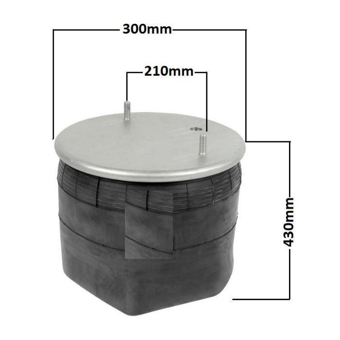 Perna aer semiremorca trailer remorca cu axa BPW O/SL/AL PGP104881S02