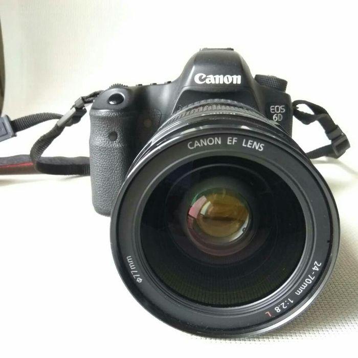 Canon EOS 6D + объективы и аксессуары