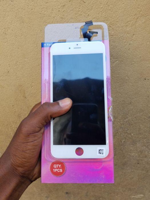 LCDs originais iPhone 6 plus, 6s Plus Brancos e pretos