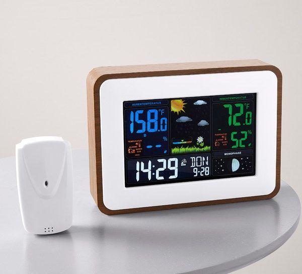 Метеорологична станция Woolworth - Безжична, сензорна, часовник - Но