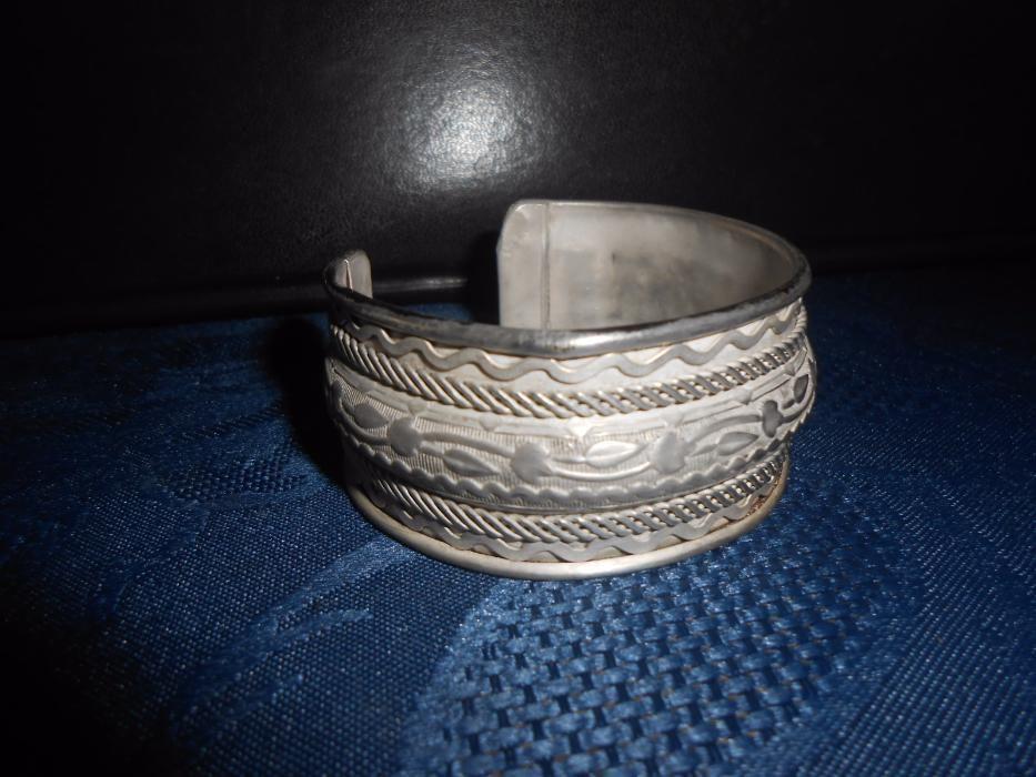 Bratara vintage argintata