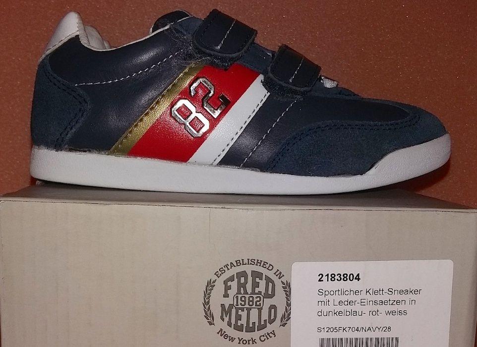 Adidasi Sneakers baieti FRED MELLO mar. 28 Nou