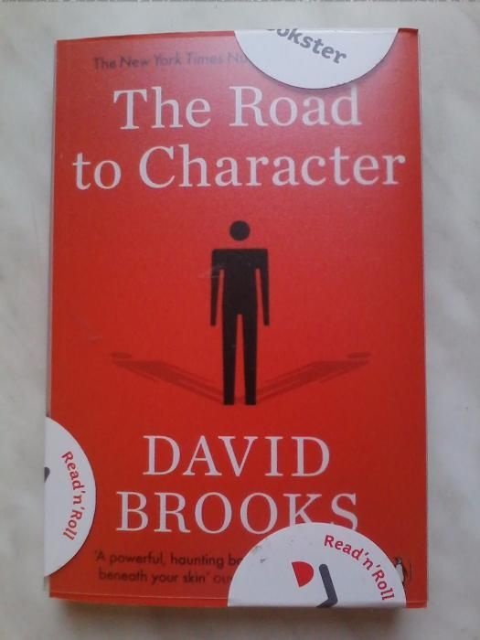 David Brooks - The road to character (carte dezvoltare personala)
