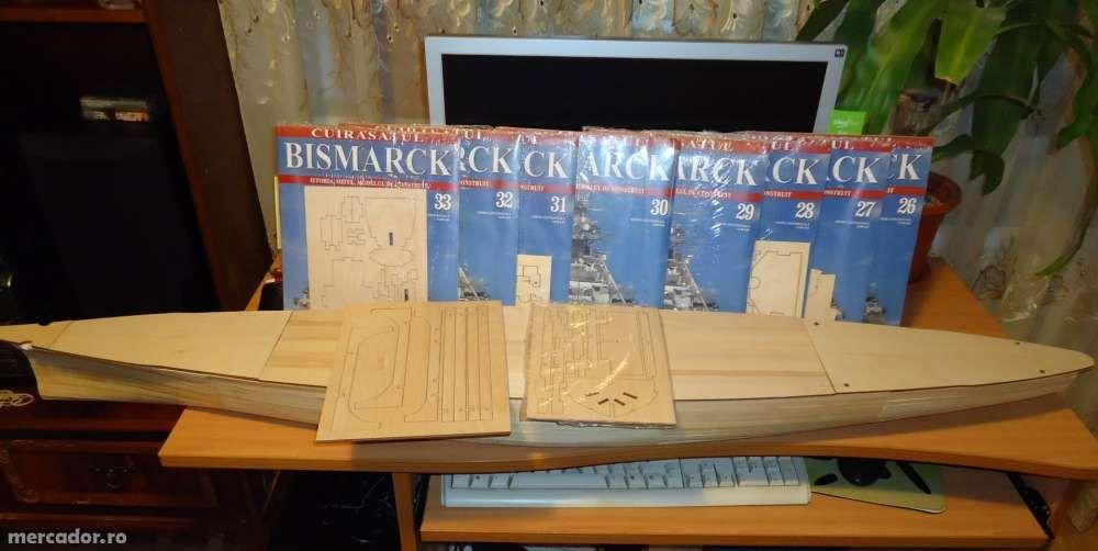 Vand kit-ul Bismarck (de la Hachette)