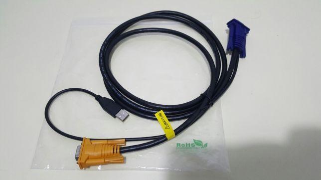 KVM Cablu cu USB 1.8m