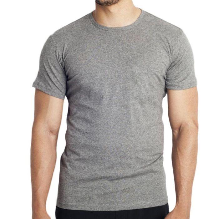T-shirt cinza base