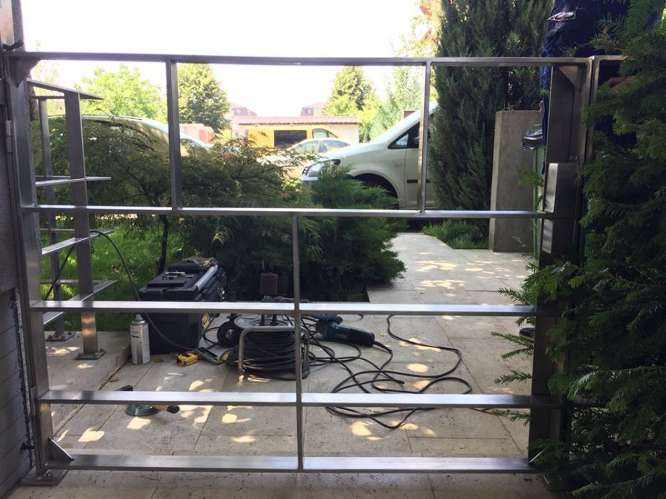 Atelier sudura in argon, aluminiu, otel, inox