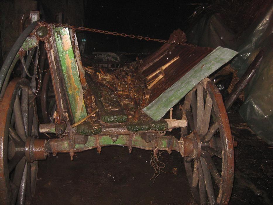 Car de vaci vechi! Componente metalice car