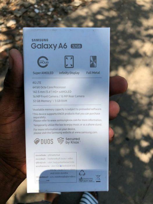 Samsung galáx A6