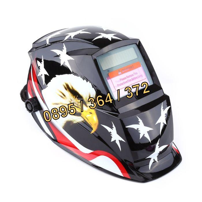 Соларна маска - Заваръчен шлем - соларен заваръчен шлем Черен череп гр. Пловдив - image 2