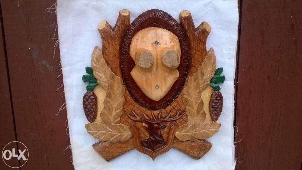 Panoplie cu imitatie craniu cerb
