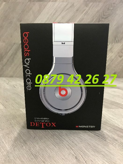 Слушалки Beats By Dr Dre Monster Pro Detox
