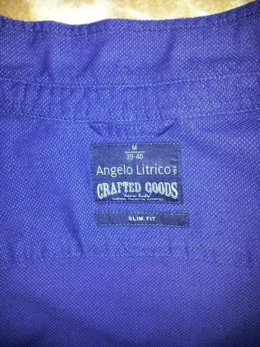 Camasa barbati Angelo Litrico C&A, bumbac, masura M (39-40), Slim Fit